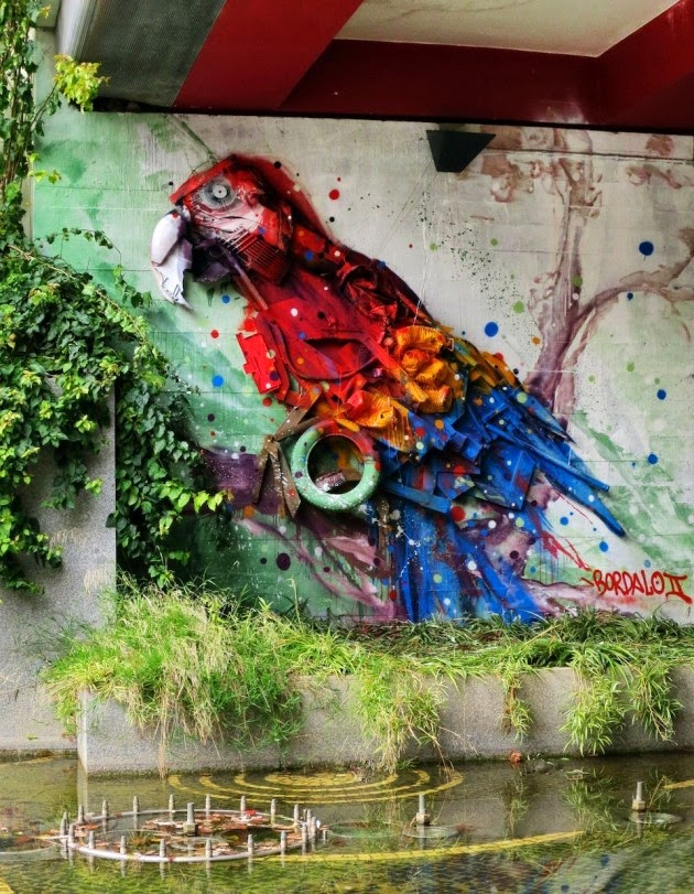 The Best Examples Of Street Art In 2012 And 2013 - By Bordalo Segundo, France