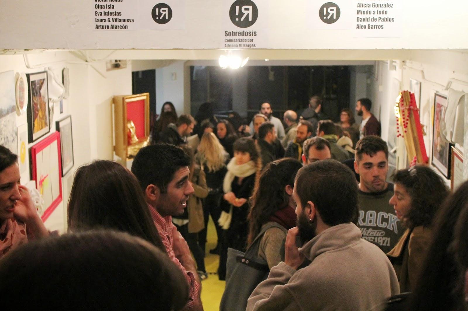 """""""Revuelta"""",""""Adriana Berges"""",""""la quinta del sordo"""",""""exposición"""",""""sobredosis"""",""""arte"""",""""mass media"""""""