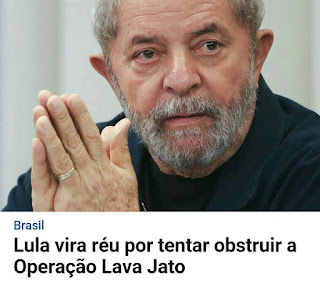 Lula vira réu