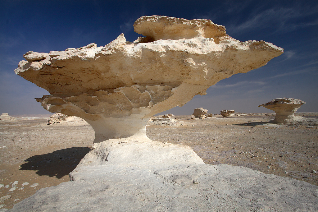 Gurun Pasir Putih yang cantik di Mesir