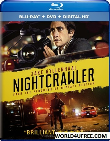 Nightcrawler 2014 BluRay 480p 300mb ESub