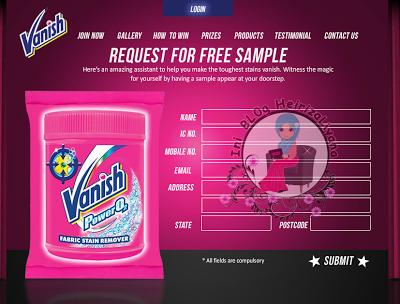 sample percuma, free sample 2013,sample vanish percuma