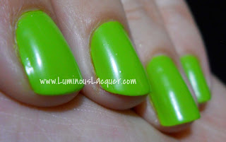 LuminousLacquer.com Julep - Fiona