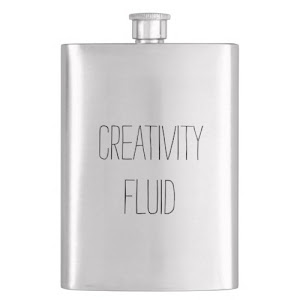 Creativity Fluid | Fun Classic Hip Flask