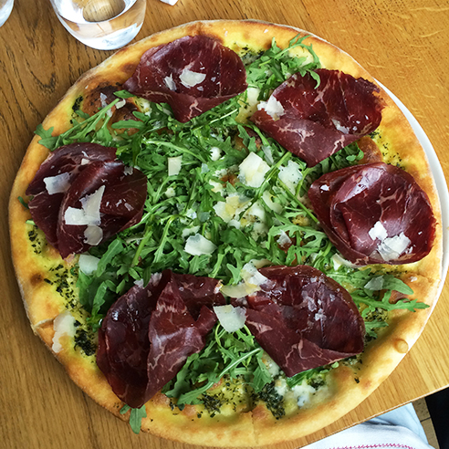 Pizza at Goat