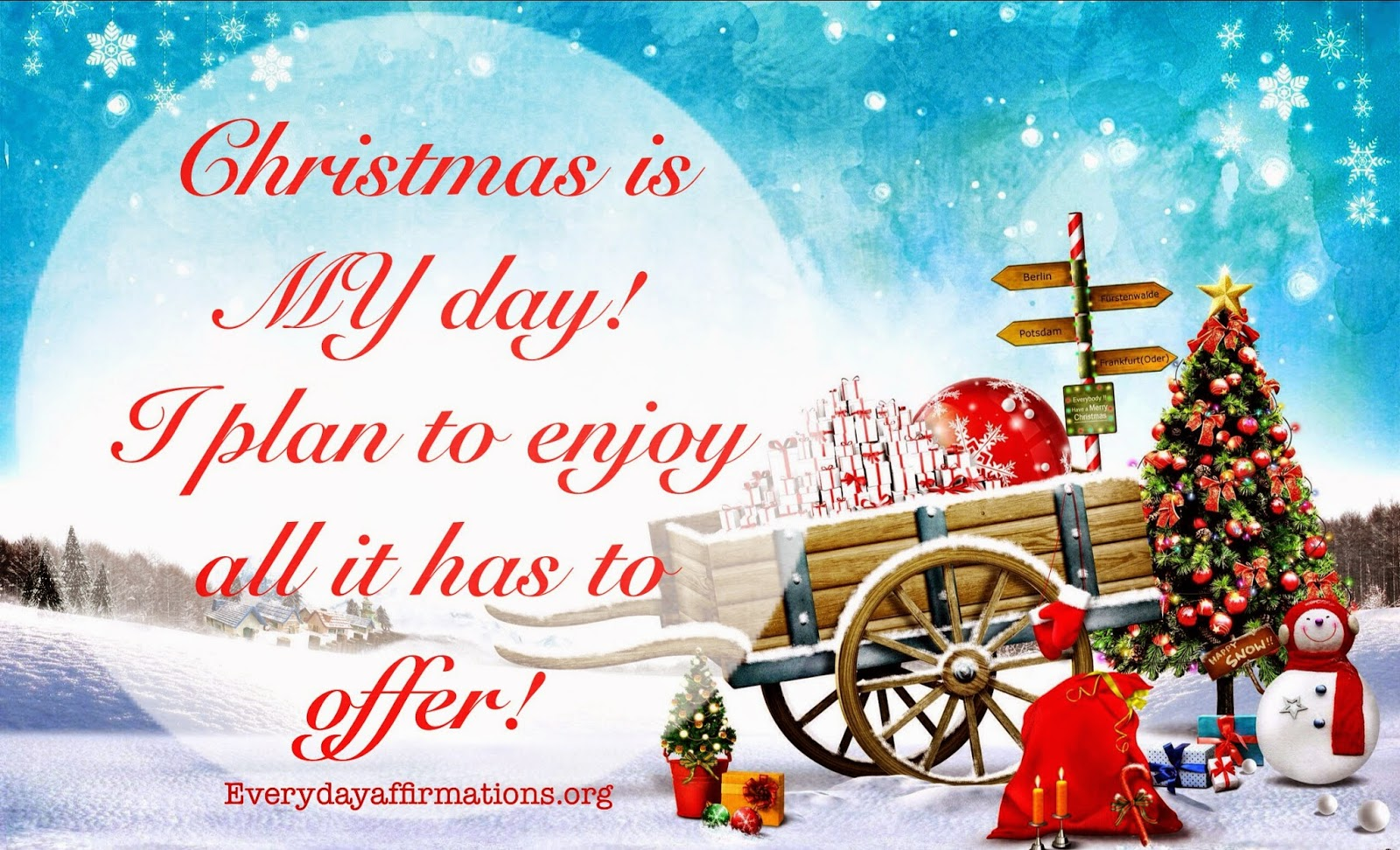 Daily Affirmations, affirmations for christmas, newyear affirmations