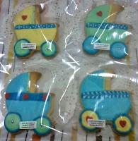 Fancy cookies baby stroller love