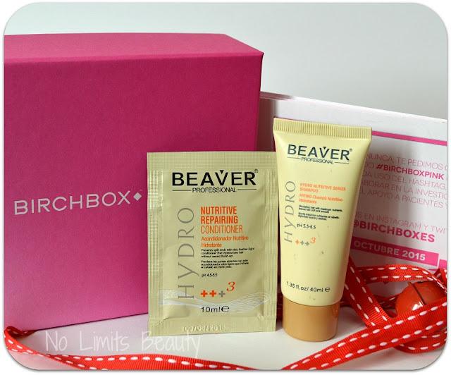Birchbox Octubre 2015 - Beaver Professional - Champú y acondicionador - Nutritive Moisturizing Series