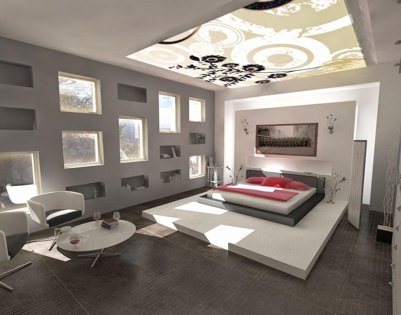 Design Interior Kamar Tidur Rumah Minimalis Modern