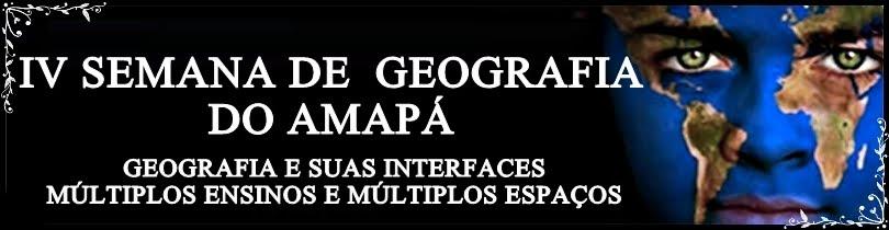 SEMANA DE GEOGRAFIA DO AMAPA