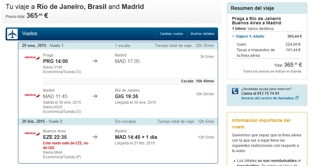 Vuelo low cost Brasil Argentina
