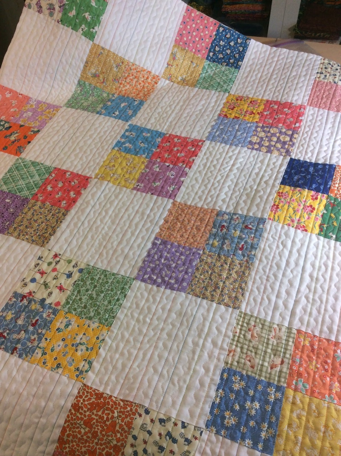 Mama spark 39 s world my charity quilts and a giveaway - Alfombras de patchwork ...