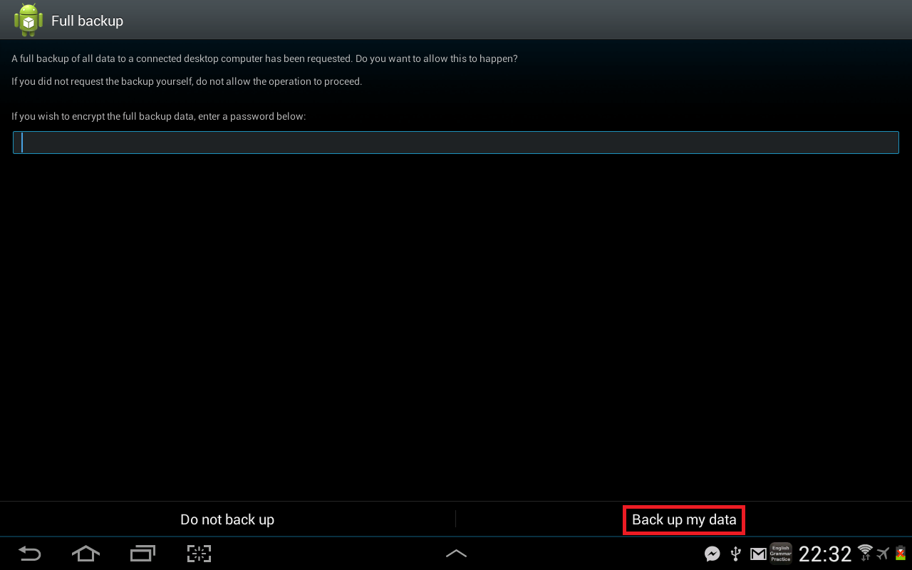 sudo apt install android-tools-adb
