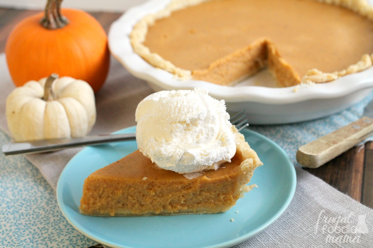 This perfectly spiced & tangy Triple Spice Pumpkin Buttermilk Pie is ...