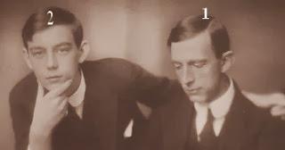 Princes Wilhelm et Lennart de Suède