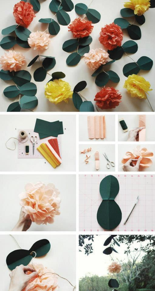 El detalle que hace la diferencia papel adornos for Manualidades faciles decoracion