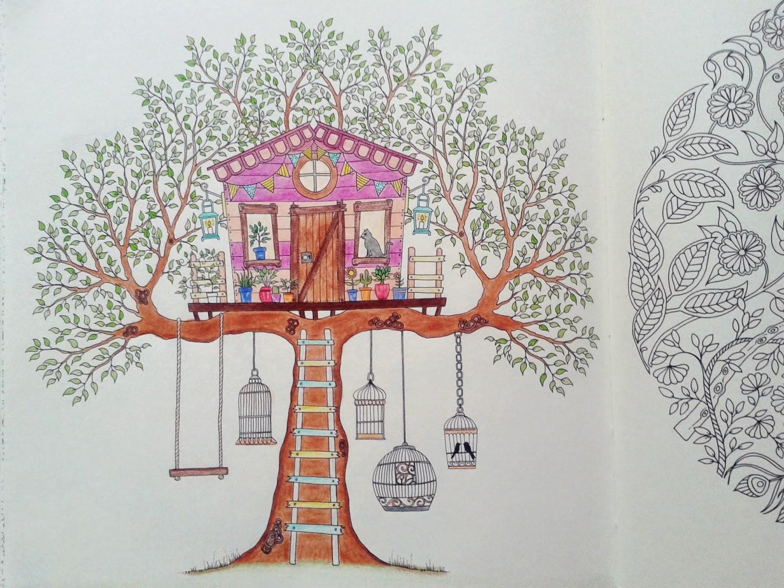 fotos do livro jardim secreto : fotos do livro jardim secreto: para comprar um de 48 e terminar de colorir o Jardim Secreto