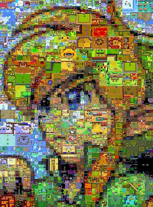 zelda compuesta por screenshots