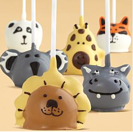 Shari's Berries Cake Pops Zoo collection
