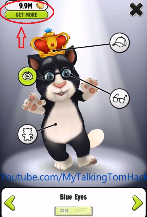 hack my talking tom iphone