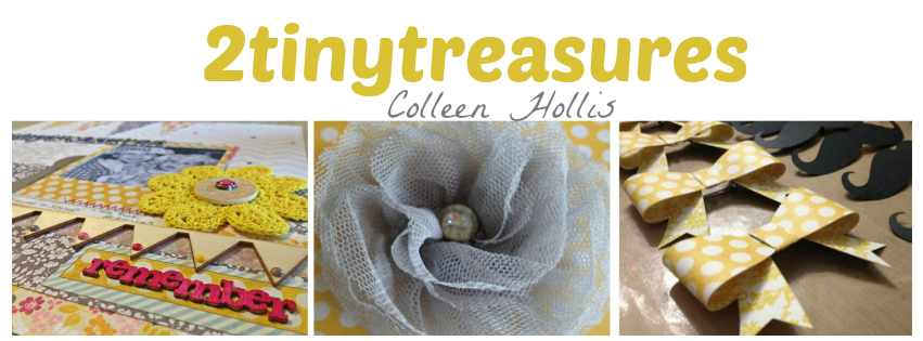 Scrapbooking with 2TinyTreasures