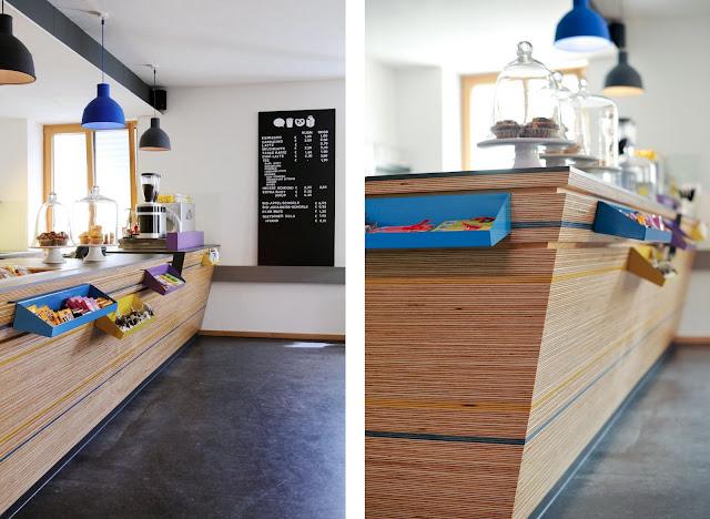 Barra de bar mostrador de madera caf mundvoll tienda - Mostradores de bar ...