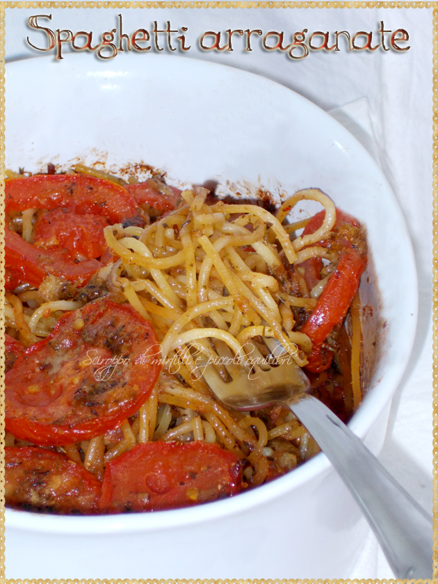 Spaghetti arraganate