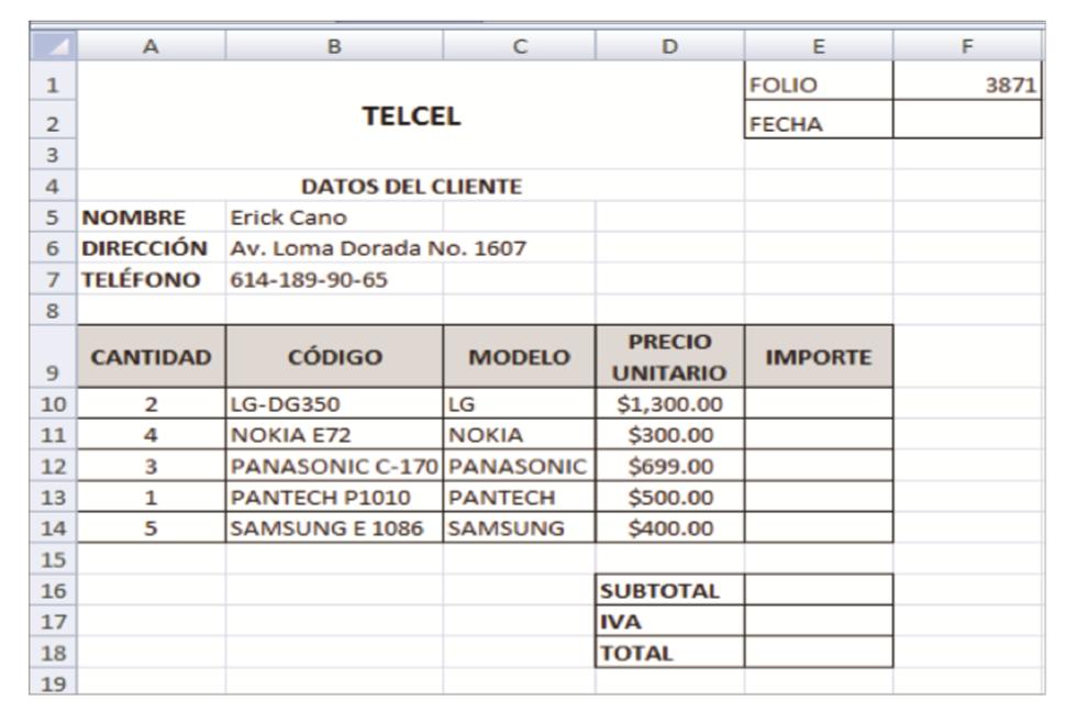 INFORMÁTICA II: BLOQUE II. Planeación y elaboración de hojas de cálculo.