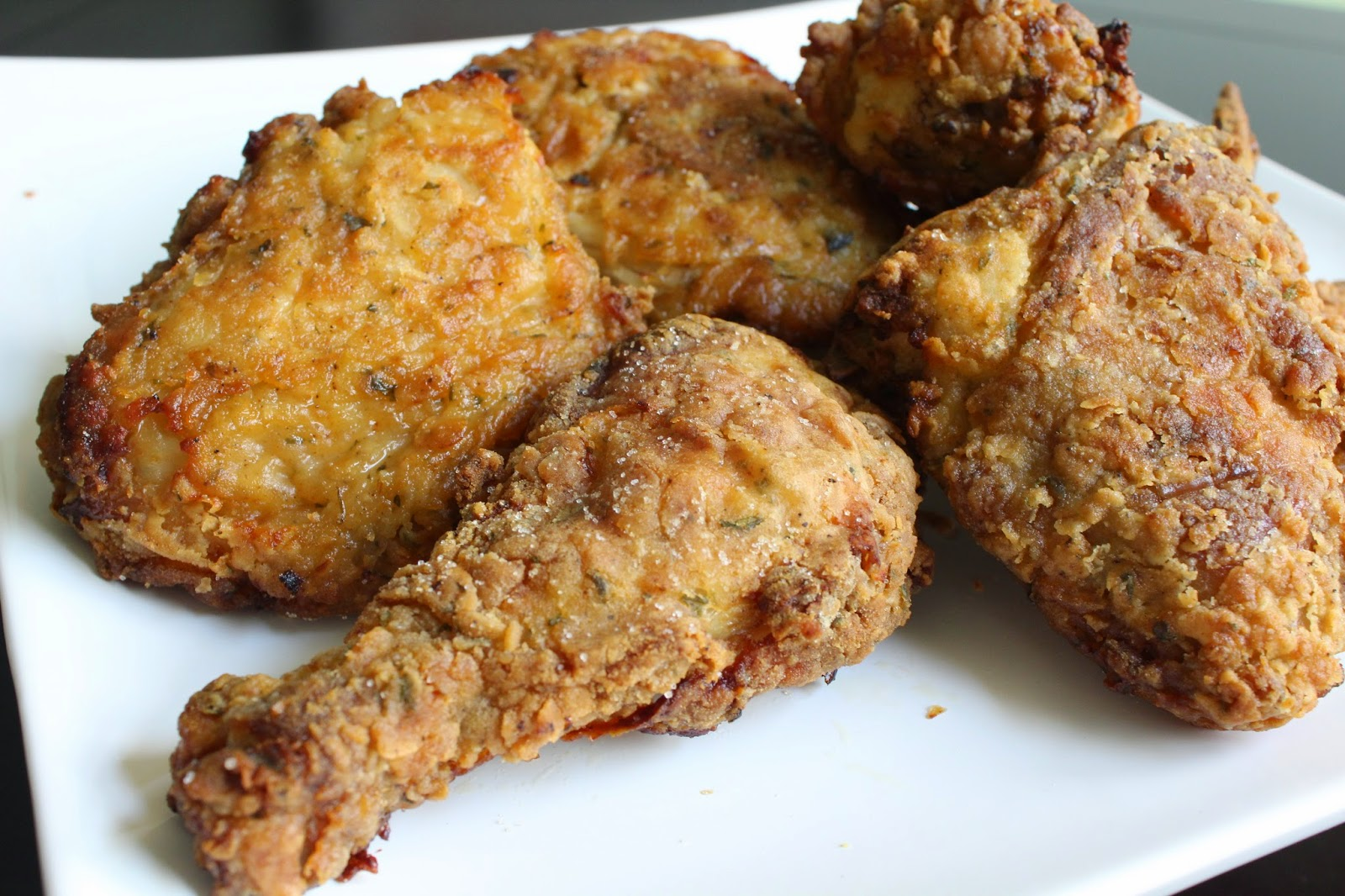 The Yuca Diaries: Buttermilk Oven-Fried Chicken