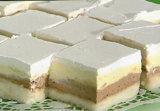 ... slikama recept kremasti kolaci: Kolač Ledene kocke recept sa slikom