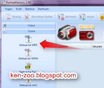 Cara Memformat File Ke 3gp, Avi dan Mp4