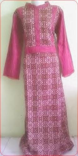 model baju batik muslim umum