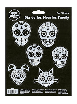 Sugar Skull Family Car Stickers