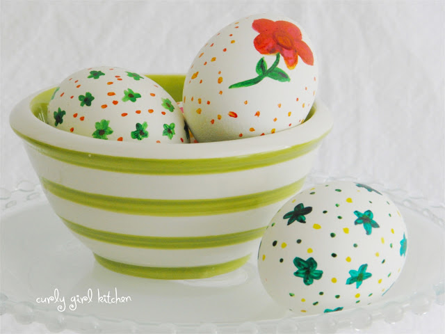 Easter Egg Painting with Gel Food Colors