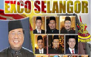 New Selangor EXCO Members 2014