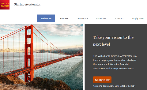 Wells Fargo Startup Accelerator