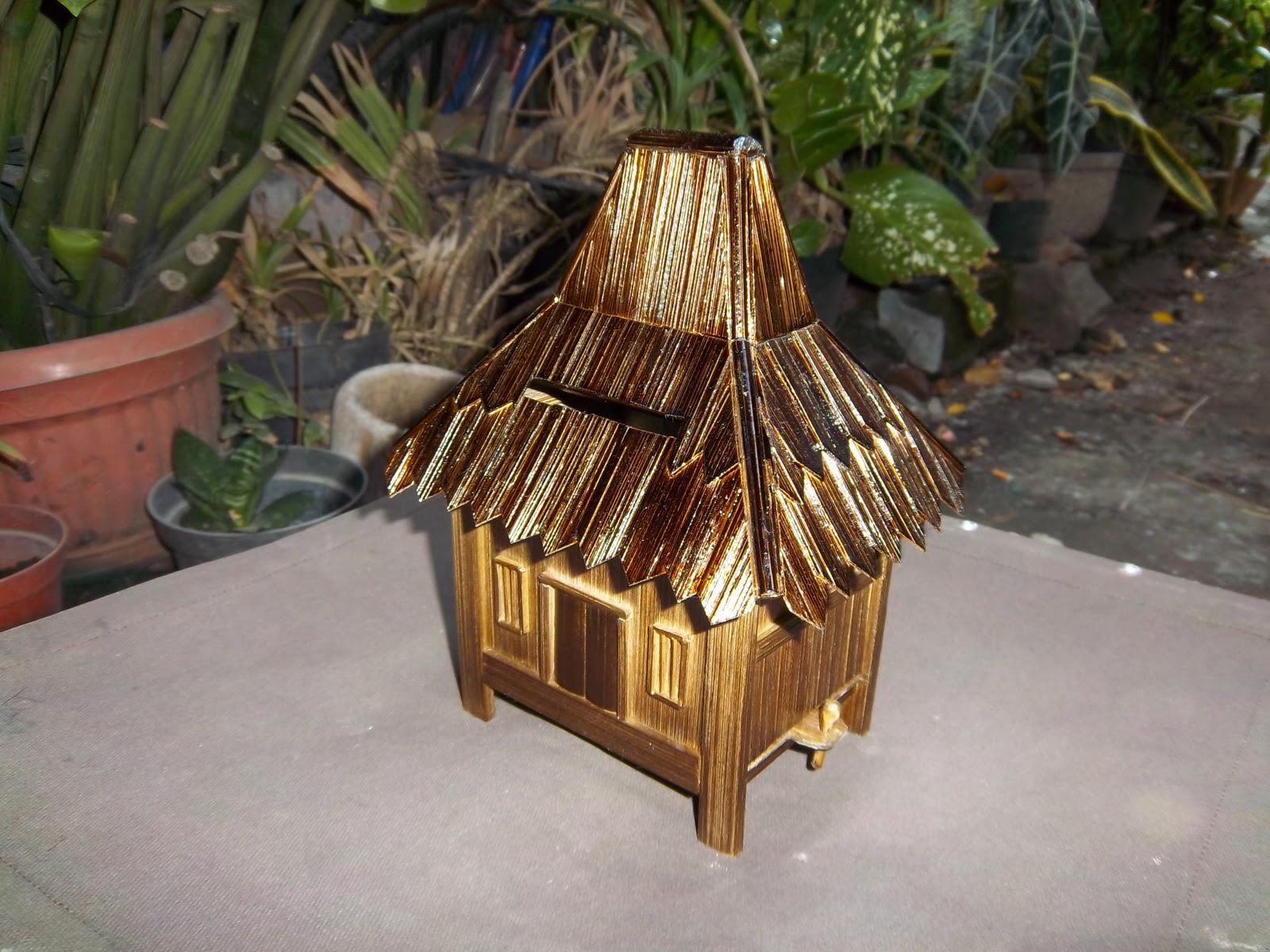 Cara Membuat Miniatur Rumah Adat Jawa Dari Stik Es Krim Brad Erva