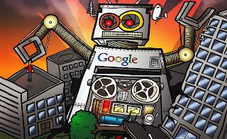 Memanggil Robot Google
