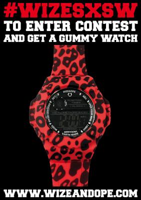 sorteo wize and ope relojes diseñados por lil wayne gummy