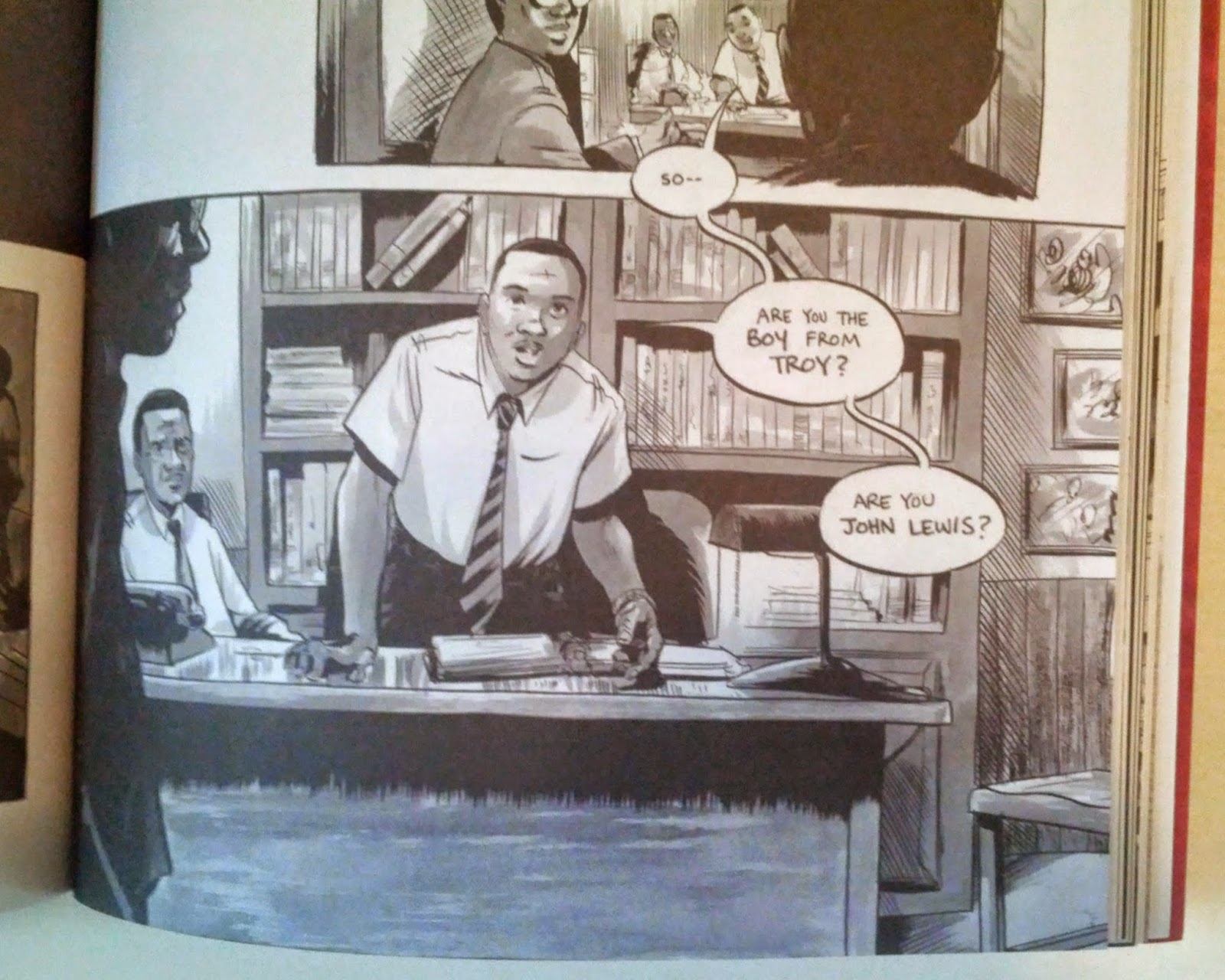 march book one john lewis excerpt martin luther king jr.