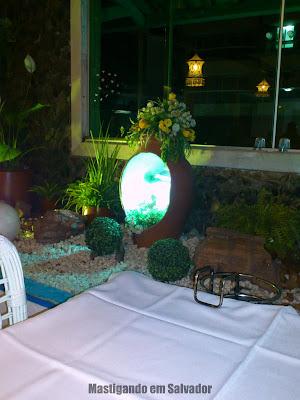 Restaurante Yemanjá: Detalhe da estátua de Yemanjá