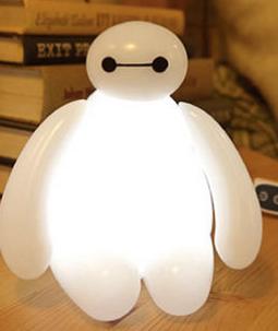 AGeekyLink: BIG HERO 6 BAYMAX LAMP ILLUMINATES WITH LIGHT, NOT ...
