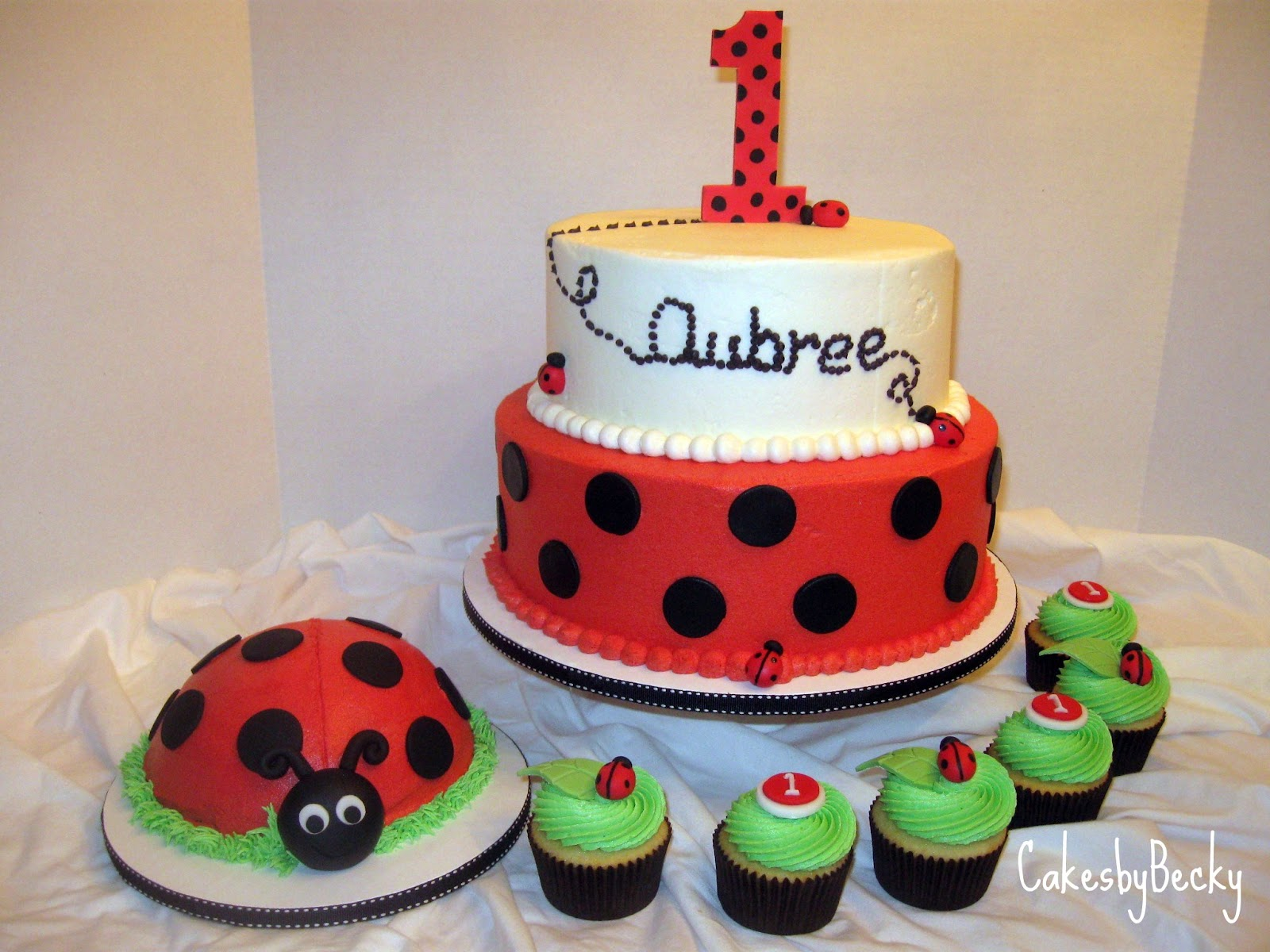 10 little ladybugs birthday theme