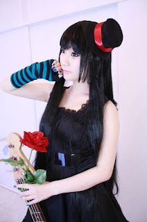 Koyuki Cosplay as Mio Akiyama from K-On!