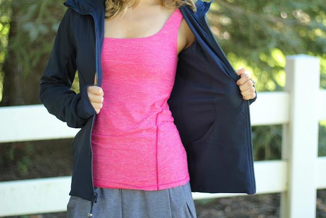 lululemon in-flux-jacket city-skort amala-tank