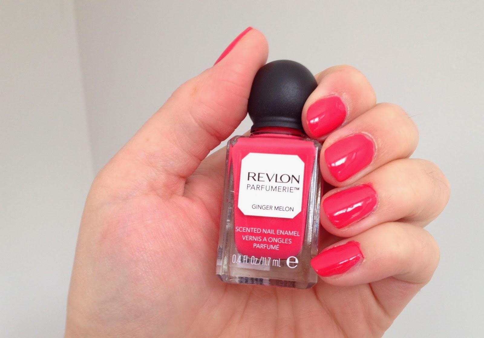 Revlon Parfumerie scented nail polish Ginger Melon