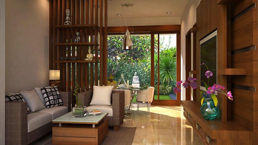 desain interior rumah minimalis gaya bali interior rumah