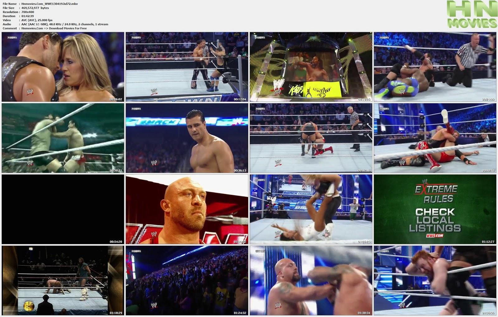 movie screenshot of WWE Friday Night Smackdown fdmovie.com