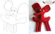 . Dibujos de niños transformados en juguetes reales