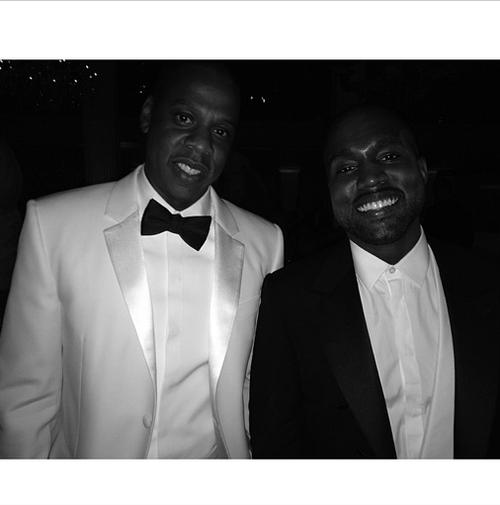 Met Gala 2014 jay z kanye west